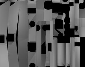 Torii Japanese Gate 3D model
