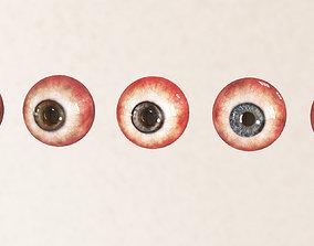 3D asset Eye set