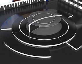 3D News Set--Virtual