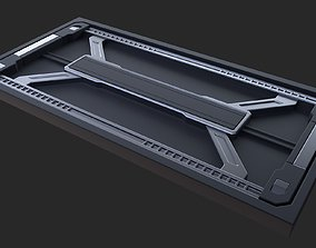 3D model Sci-fi Floor Wall 44 industrial panel
