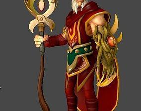 3D model Fantasy Sorcerer