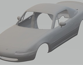 Mazda Miata 1995 Printable Body Car