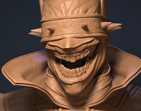 3D printable model joker Batman who laughs