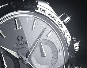 jewelry 3D model Omega watch