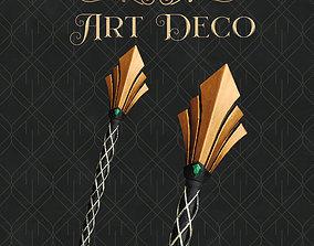 Art Deco Magic Wand - Harry Potter - 3D Printable