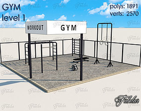 3D model Gym Level
