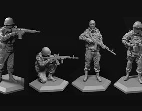 3D model Army 52-120mm