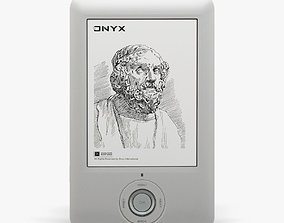 3D model low-poly Onyx Boox A60 e-reader