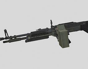 3D model low-poly M60E4