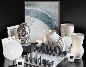 3D model Modern decorative set 2
