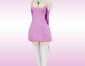 emilia RE ZERO EMILIA ANIME GIRL 3D PRINT