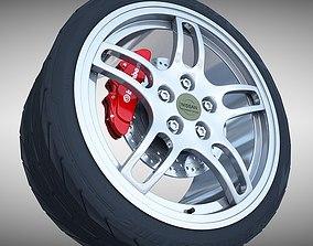 3D model Nissan GTR- R33 Wheel