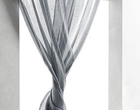3D model Woven Drapes