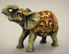 3D model VR / AR ready ELEPHANT nature