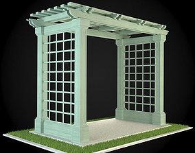 3D model Pergola