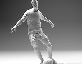 3D print model Footballer 02 Footstrike 03 Stl