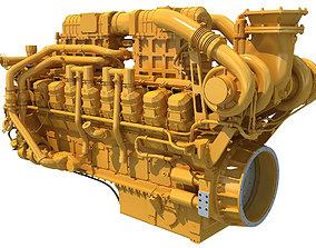 Marine Propulsion Engine 3D model