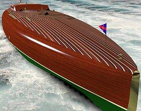 Baby Bootlegger G5 Speed Boat 3D