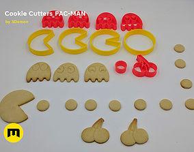 Pac-Man Cookie Cutters Set 3D printable model