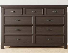 classic Chest of drawers 3D model PBR