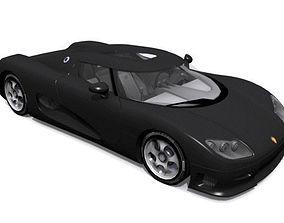 3D asset Koenigsegg CC