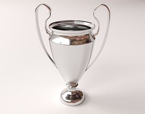 3D Silver Cup