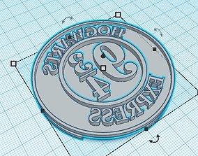 Cookie Stamp set Harry Potter 3D printable model