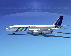 3D Boeing 707 Fastair Cargo