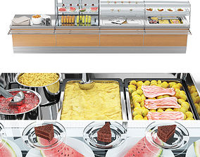 3D model SIFA Lunch bar