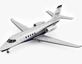 Cessna Citation Latitude 3D model