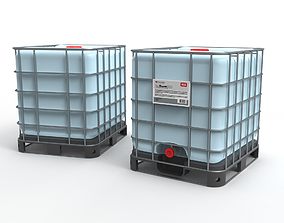 IBC Tank Container 3D model