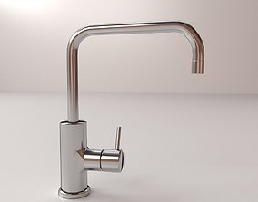 steel Faucet 3D model