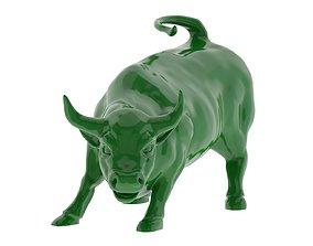 Wall Street Bull 3D Print