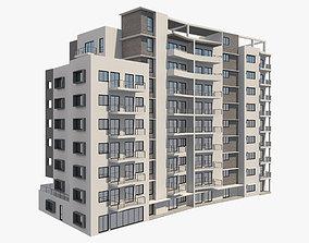 3D Apartment Building 7