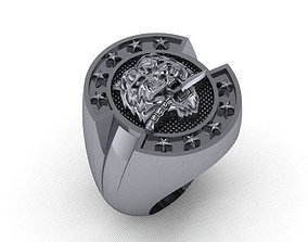 Men rings 04 gold 3D printable model