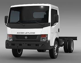 3D model Ashok Leyland Partner Chassi 2015