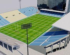 3D model Chichibunomiya Rugby Stadium - Tokyo
