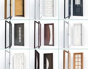 Modern Doors Collection 3D