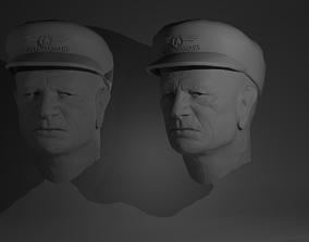3D model Polyguardian Ship Captain