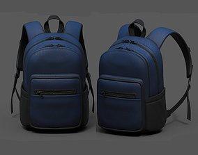 3D model Backpack Camping Generic military human bag 2