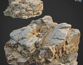 3d scanned rock cliff Y