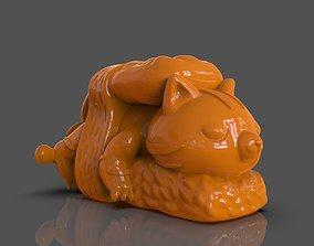 3D printable model Nigiri Cat Art Toy