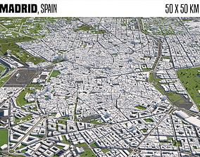 3D spain Madrid Spain