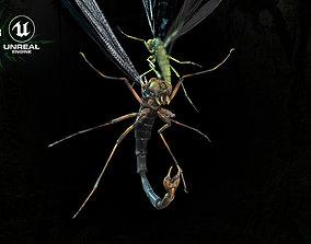 MosquitoVampire 3D asset