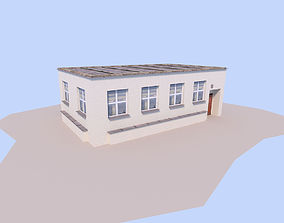 House 3D model low-poly