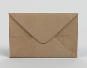 Mail Envelope 3D