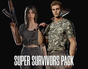 3D Super Survivors Pack - Game Ready