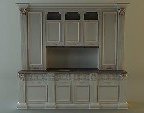 oven 3D Kitchen cabinet