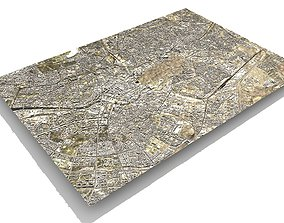 3D Cityscape Berlin Germany Fragment of the city