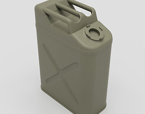 US Army WW2 Jerry Can 3D print model